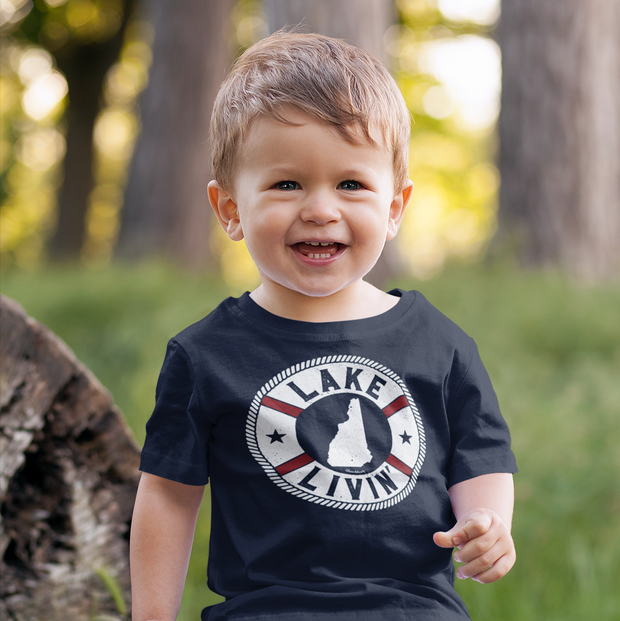 Lake Livin' Toddler T-Shirt