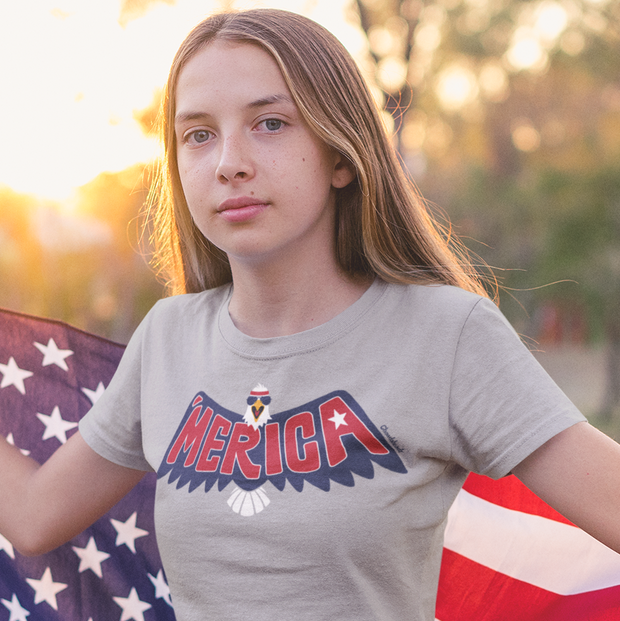 'Merica Eagle Youth T-Shirt