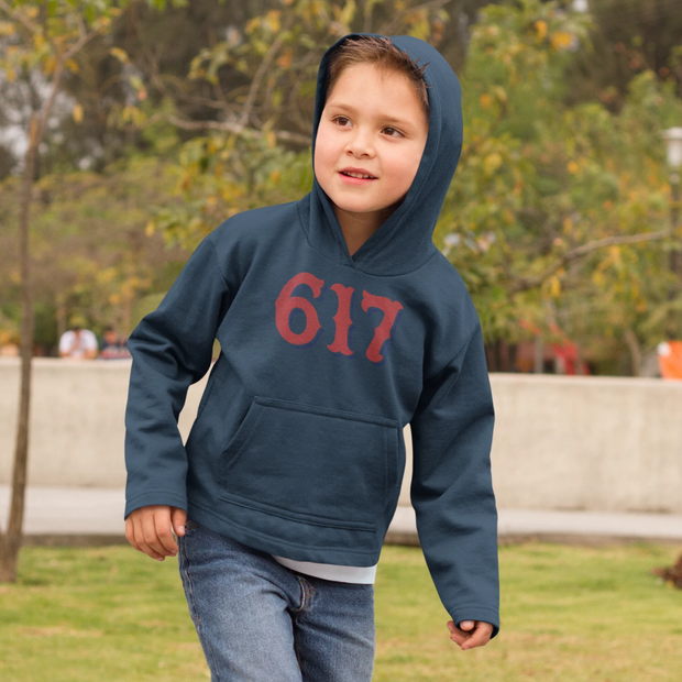 Boston 617 Team Spirit Youth Sweatshirt
