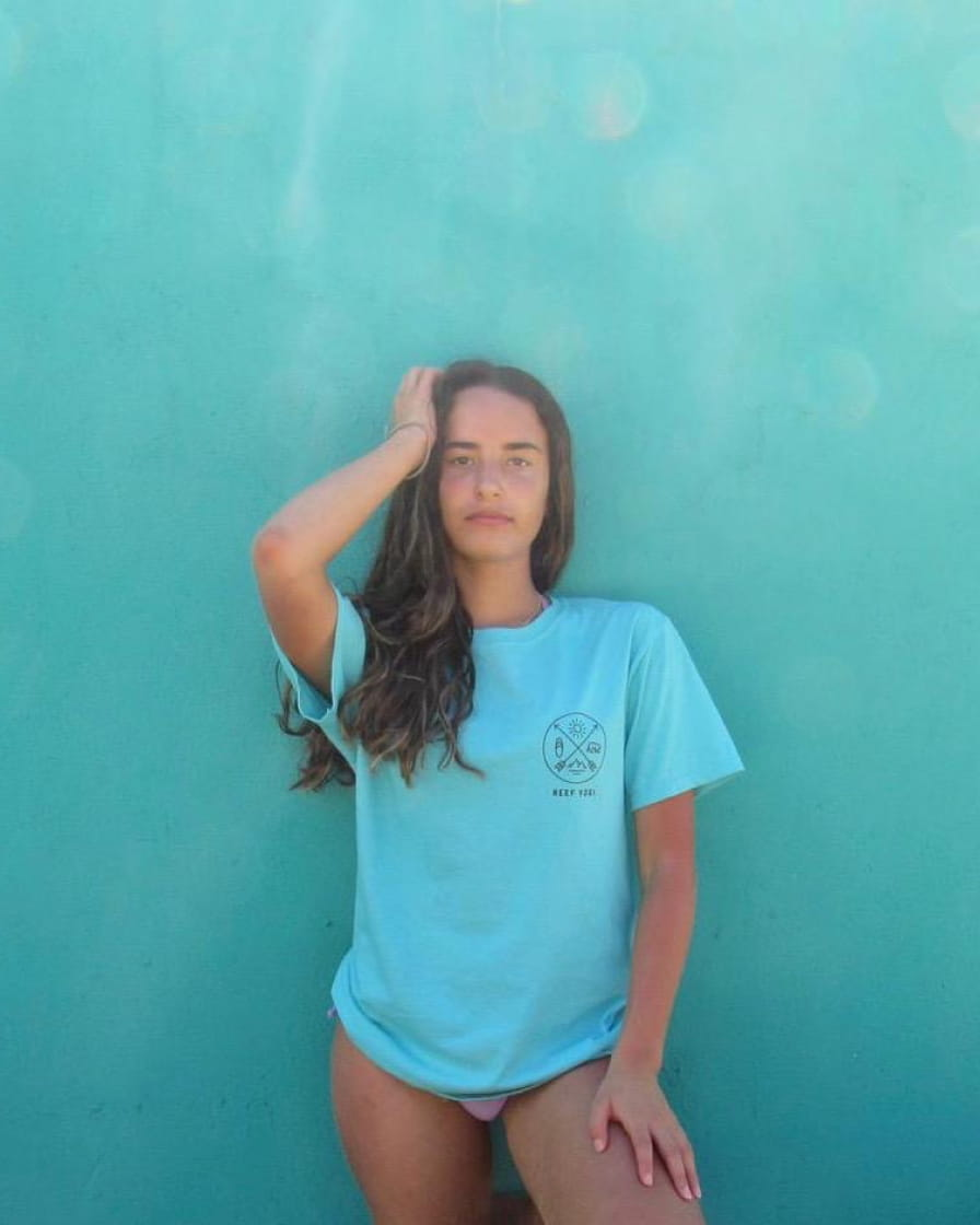 Natural Unity Tee (Two-Sided) Shirts - Reef Yogi Beach Clothing
