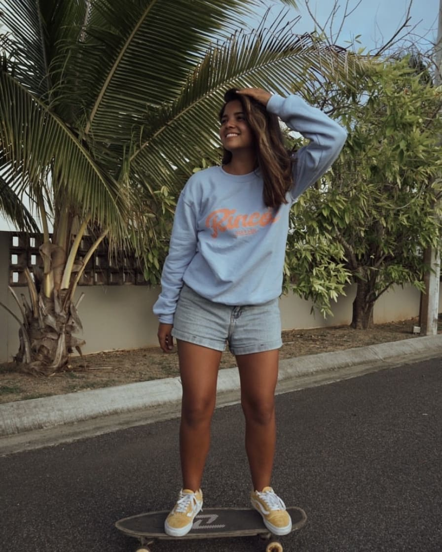 Rincón Light Blue Sweatshirt