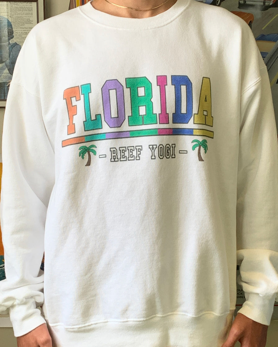 Florida Sweatshirt - White