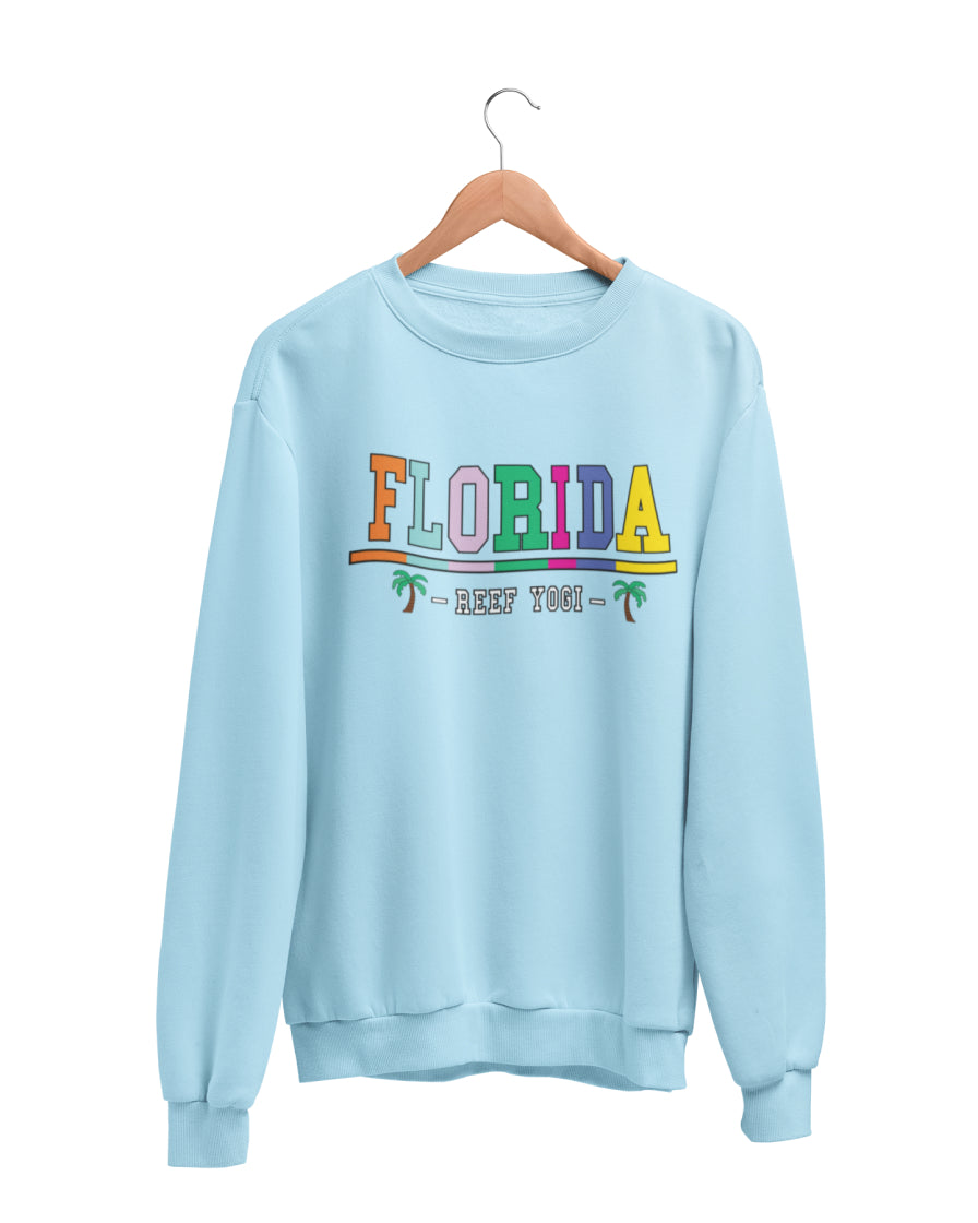 Florida Sweatshirt - Light Blue