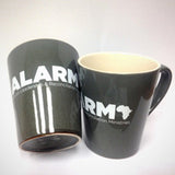 ALARM Ceramic Coffee Mug, Grey