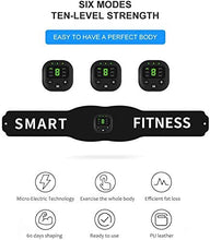 Load image into Gallery viewer, (Q615)Abs Stimulator,Muscle Toner - Abs Stimulating Belt- Abdominal Toner-Training Device for Muscles- Wireless Portable to-Go Gym Device- Muscle Sculpting at Home