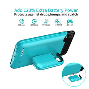 (W2513)Battery Case for iPhone XR, 4000mAh Charging Case Protective External Charger Case Upgrade Portable Rechargeable Extended Battery...