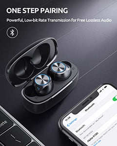 (W583)Wireless Earbuds (Upgraded), VANKYO in-Ear Bluetooth Headphones, Immersive Bass Sound, IPX8 Waterproof Sport Earphones, Touch Control...