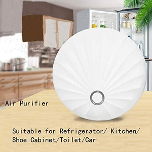 (V404)Air Purifier for Home, Portable Mini Air Purifier Ozone Generator Produce Negative Ion to Keep Air Fresh Eliminate the Odor