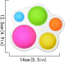 Load image into Gallery viewer, (X691)Simple Dimple Fidget Toy - Sensory Toys, Silicone Flipping Board Fidget Toys - Early Educational Toy, Hand Grasping Toy...