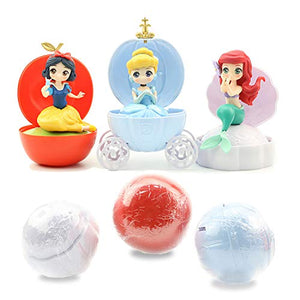 (J390)Surprise Doll Toys for Girls, or Birthday Present for Kids and Beautiful with Brightly Colored Cute Toy Decoration Set, 3 Surprise Balls Turned into Dolls Suits