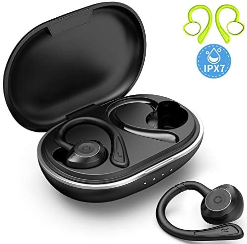(Q174) Muzili Bluetooth Earbuds with Charging Case for 36hrs Long Playtime, True Wireless Earbuds