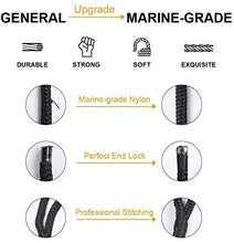 Load image into Gallery viewer, (R3741)GREENEVER Double-Braided Dock Lines - Excellent 5800 lbs Breaking Strength, 24 Strands of Premium Double-Braided Mooring Lines