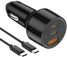 Load image into Gallery viewer, (W959)USB C Car Charger, DeepDream 48W 3-Port Fast PD Car Charger Adapter for iPhone 12/12mini/11/11 Pro/11 Pro Max/XS, Samsung Note 10/S10