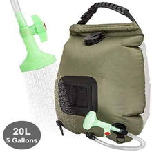 Load image into Gallery viewer, (R722)WEIYII Solar Shower Bag 5 Gallons/20L Hot Water 45°C Foldable Storage Beach Swimming Outdoor Traveling Hiking