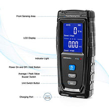 Load image into Gallery viewer, (C378)ERICKHILL EMF Meter, Rechargeable Digital Electromagnetic Field Radiation Detector Hand-held Digital LCD EMF Detector, Great Tester