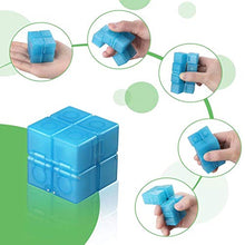 Load image into Gallery viewer, (H0120)INFINITY CUBE 2 Pieces Fidget Toy Fluorescent Stress Anxiety Relief for Adults and Kids Hand-Held Magic Puzzle Flip Cube Fidget Finger Toys Cube