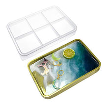 Load image into Gallery viewer, (H234)Silicone Tray Molds,Rectangle Rolling Tray Molds,Epoxy Resin Molds, Resin Serving Tray Molds with Edges,Resin Casting Molds for DIY Craft
