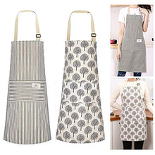 Load image into Gallery viewer, (H237)Urijk Aprons for Women Men,2 Pieces Cooking Apron Adjustable Kitchen Apron Soft Chef Apron apron for women with 2 Pockets