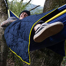 "Load image into Gallery viewer, (X651)Puffy Camping Blanket 80"" X 54"" Outdoor Ultralight Backpacking Quilt Super Warm Hammock Top Quilt Wearable Adventure Blankets Waterproof Stadium ..."
