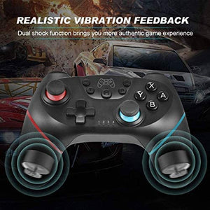 (Q662)JAMSWALL Wireless Switch Pro Controller for Nintendo Switch & PC,Remote Gamepad Joypad,Joystick Supports Gyro Axis, Turbo and Dual Vibration