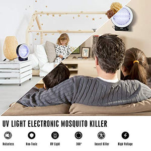 (H069) Mosquito Bug Zapper, Mosquito Killer UV Insect Killer Lamp Electronic Insect Killer for Indoor, Timing and Remote Control Mosquito Killer
