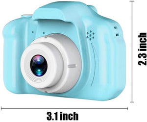 (G187)Upgrade Kids Digital Camera with 8 Megapixel, 2 Inch IPS Screen HD 1080P Kids Selfie Camera, Great Gift for Kids, Toddlers, Toy for Boys and Girls
