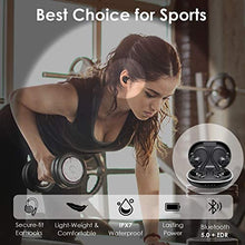 Load image into Gallery viewer, (Q174) Muzili Bluetooth Earbuds with Charging Case for 36hrs Long Playtime, True Wireless Earbuds