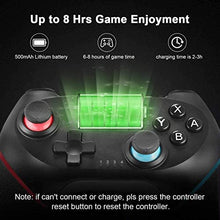 Load image into Gallery viewer, (Q662)JAMSWALL Wireless Switch Pro Controller for Nintendo Switch & PC,Remote Gamepad Joypad,Joystick Supports Gyro Axis, Turbo and Dual Vibration