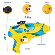 Load image into Gallery viewer, (G356)HZONE Water Guns & Water Activated Vests,Water Toy for Kids in The Backyard,Great Outdoor Water Fighting Play Toys