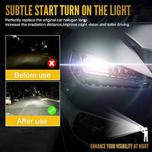 Load image into Gallery viewer, (V920)H11/H9/H8 LED Headlight Bulbs, ExceCar 90W 10000 Lumens Super Bright 6500K LED Headlights Conversion Kit Cool White IP68 Waterproof