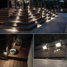 Load image into Gallery viewer, (D099) Solar Deck Lights Outdoor Solar Step Lights 6 LED Solar Stair