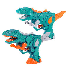 Load image into Gallery viewer, (J018)WELLVO Water Gun, 2 Pack Water Guns for Kids, Dinosaur Party Favors for Boys Girls Summer Holiday Swimming Pool Beach Park Play Toys