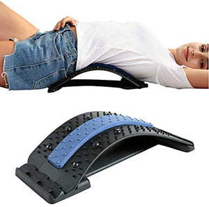 (K160)Back Stretcher for Pain Relief, Spine Deck, Lumbar Back Pain Relief Device, Lower and Upper Back Stretcher Support, Multi