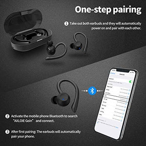 (C681) Wireless Earbuds Bluetooth 5.0 Headphones True Wireless Deep Bass in-Ear Mini TWS Stereo