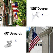 Load image into Gallery viewer, (T447)TALITARE Flag Pole with Bracket,5FT Flagpole Kit American Flag with Pole Holder Mounting Bracket Stainless Steel Heavy Duty