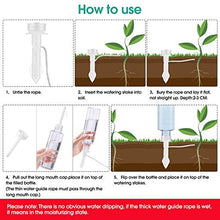 Load image into Gallery viewer, (R160)YEPLINS Plant Watering Stakes for Potted Plants, Self Plant Watering Spikes for Water Bottles,Automatic Plant Waterers