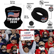 Load image into Gallery viewer, (T010)2020 Flag 3x5 Outdoor and Indoor Decoration Banner, Included Hat, Bandana, Handheld Flags (Slogan Package)