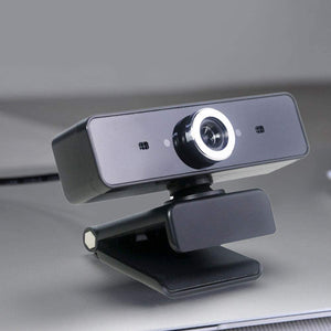 (W751)HD Webcam with Microphone - USB Computer Camera 12 Million Pixel & Built-in Microphone Clip On Computer Laptop Desktop