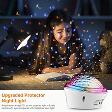 Load image into Gallery viewer, (E520)smpufier Star Projector, Night Light Projector, LED Lights for Bedroom/Room with 4 Modes and Timer for Kids Adults Gifts Home Party Dance Floor