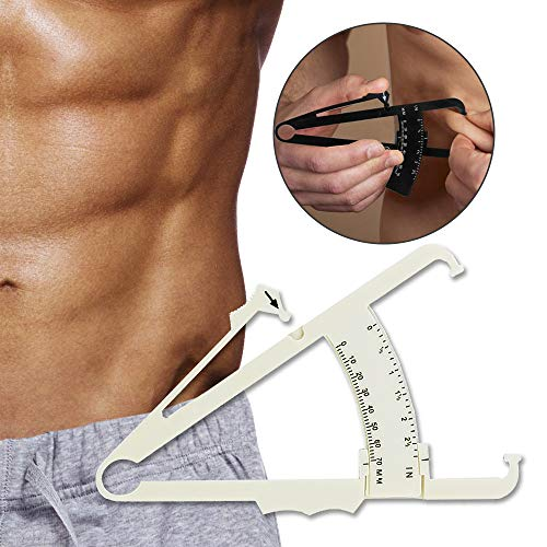(B872) Fat Measure Caliper,Body Fat Calipers for Accurately Measuring