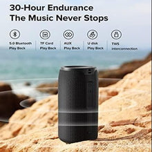 Load image into Gallery viewer, (J750)Wireless Speaker Bluetooth with Lights,Fully Waterproof Bluetooth Speaker,25W Portable Bluetooth Speakers,30H Playtime,Bluetooth 5.0,Outdoor,...