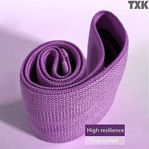 (A843)TXK Fabric Resistance Loop Bands for Women, Soft & Non Slip Design,Hip Band - Fabric Resistance Exercise Booty Bands