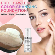 Load image into Gallery viewer, (S932)2 Pack Liquid Foundation,All-Day Flawless Color Changing Foundation,Cream Foundation,Pore Refining...