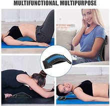 Load image into Gallery viewer, (K160)Back Stretcher for Pain Relief, Spine Deck, Lumbar Back Pain Relief Device, Lower and Upper Back Stretcher Support, Multi