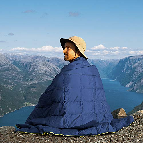 (X651)Puffy Camping Blanket 80