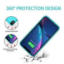 Load image into Gallery viewer, (W2513)Battery Case for iPhone XR, 4000mAh Charging Case Protective External Charger Case Upgrade Portable Rechargeable Extended Battery...