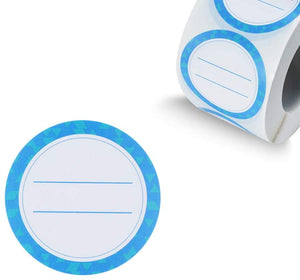 "(T425)(2"" Round 500/roll) Canning Labels Dissolvable Stickers for Mason Jars, Sky Blue Canning Supplies Stickers Washes Off in Seconds Like Magic, Suitable"