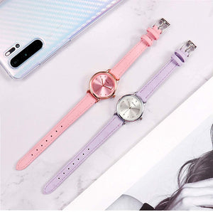 (Q576)Women Easy Reader Watch, Small Simple Dress Watch for Ladies Girls, Waterproof Analog Watches for Women