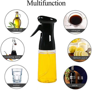 (T336)Olive Oil Sprayer, Oil Spray for Cooking,BBQ Cooking Spray Bottle, for Cooking, Baking, Roasting, Grilling, BBQ, Salad, Frying, Kitchen( 7.4 ounces)