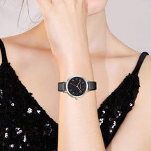 Load image into Gallery viewer, (Q577)Women's Waterproof Watch,Easy Reader Simple Analog Leather Womens Watch,Watches for Women Girls